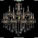 1722/10+5/265+181/B/GB Хрустальная подвесная люстра Bohemia Ivele Crystal