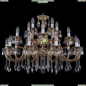 1722/10+5+5/335-64/A/GB Хрустальная подвесная люстра Bohemia Ivele Crystal (Богемия)