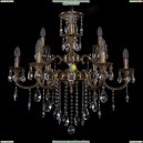 1722/6+3/265+181/B/FP Хрустальная подвесная люстра Bohemia Ivele Crystal