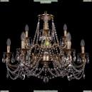 1722/6+3/265+181/C/FP Хрустальная подвесная люстра Bohemia Ivele Crystal
