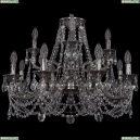 1722/8+4/250+175/C/NB Хрустальная подвесная люстра Bohemia Ivele Crystal