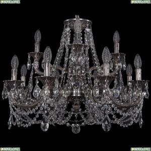 1722/8+4/250+175/C/NB Хрустальная подвесная люстра Bohemia Ivele Crystal (Богемия)