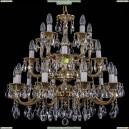 1732/10+5+5/265-68/A/GB Хрустальная подвесная люстра Bohemia Ivele Crystal (Богемия)