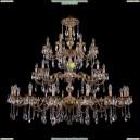 1732/16+8+8/300+250/A/FP Хрустальная большая люстра Bohemia Ivele Crystal (Богемия)