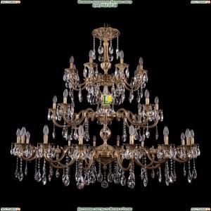 1732/16+8+8/335+265/A/FP Хрустальная большая люстра Bohemia Ivele Crystal (Богемия)