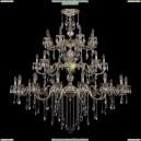 1732/16+8+8/300+250/B/GW Хрустальная большая люстра Bohemia Ivele Crystal (Богемия)