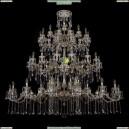 1739/32+24+24/410+300/B/GB Хрустальная большая люстра Bohemia Ivele Crystal
