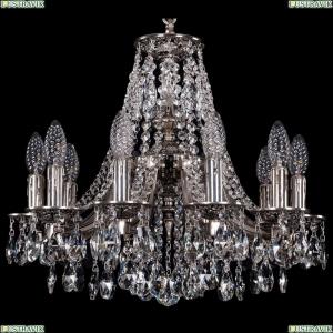 1771/10/150/A/NB Хрустальная подвесная люстра Bohemia Ivele Crystal (Богемия)