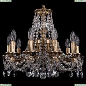 1771/10/150/C/FP Хрустальная подвесная люстра Bohemia Ivele Crystal (Богемия)