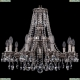 1771/10/220/A/NB Хрустальная подвесная люстра Bohemia Ivele Crystal (Богемия)