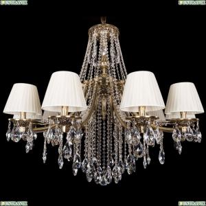 1771/10/340/B/GB/SH3-160 Хрустальная подвесная люстра Bohemia Ivele Crystal (Богемия)