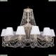 1771/12/340/C/GW/SH13-160 Хрустальная подвесная люстра Bohemia Ivele Crystal (Богемия)