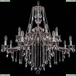 1771/16/342/B/NB Хрустальная подвесная люстра Bohemia Ivele Crystal (Богемия)