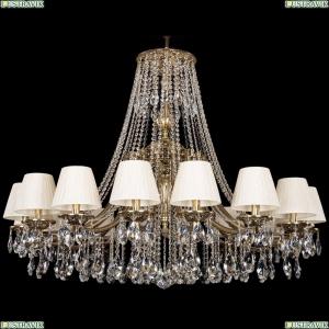 1771/16/410/A/GB/SH33-160 Хрустальная подвесная люстра Bohemia Ivele Crystal (Богемия)