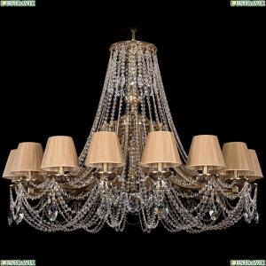 1771/16/410/C/GB/SH37-160 Хрустальная подвесная люстра Bohemia Ivele Crystal (Богемия)