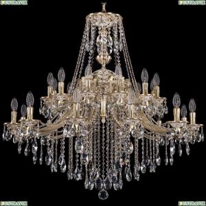 1771/24/342/B/GW Хрустальная подвесная люстра Bohemia Ivele Crystal (Богемия)