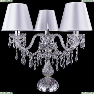 5703/3/141-39/Ni/SH21-160 Хрустальная настольная лампа Bohemia Ivele Crystal (Богемия)