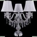 5703/3/141-39/Ni/SH41-160 Хрустальная настольная лампа Bohemia Ivele Crystal (Богемия)