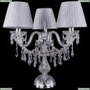 5703/3/141-39/Ni/SH6-160 Хрустальная настольная лампа Bohemia Ivele Crystal (Богемия)