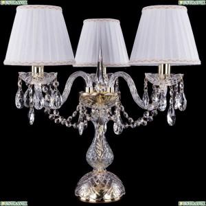 5706/3/141-39/G/SH2A-160 Хрустальная настольная лампа Bohemia Ivele Crystal (Богемия)