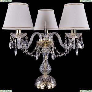 5706/3/141-39/G/SH40A-160 Хрустальная настольная лампа Bohemia Ivele Crystal (Богемия)