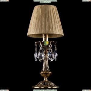 7001/1-30/GB/SH7-160 Хрустальная настольная лампа Bohemia Ivele Crystal (Богемия)