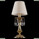 1702L/1-30/G/SH3-160 Хрустальная настольная лампа Bohemia Ivele Crystal (Богемия)