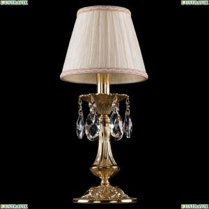1702L/1-30/G/SH33A-160 Хрустальная настольная лампа Bohemia Ivele Crystal (Богемия)