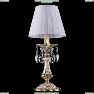 7001/1-30/GW/SH13-160 Хрустальная настольная лампа Bohemia Ivele Crystal (Богемия)
