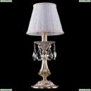 1702L/1-30/GW/SH13A-160 Хрустальная настольная лампа Bohemia Ivele Crystal (Богемия)