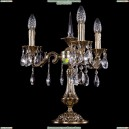 1702L/3/CK125IV-45/A/GB Хрустальная настольная лампа Bohemia Ivele Crystal (Богемия)
