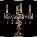 1702L/4/CK125IV-45/A/GB Хрустальная настольная лампа Bohemia Ivele Crystal (Богемия)