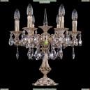 1702L/6/CK125IV-45/A/GW Хрустальная настольная лампа Bohemia Ivele Crystal (Богемия)