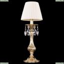 7003/1-33/G/SH33-160 Хрустальная настольная лампа Bohemia Ivele Crystal (Богемия)
