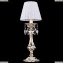 7003/1-33/GW/SH13-160 Хрустальная настольная лампа Bohemia Ivele Crystal (Богемия)