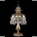 7002/20-47/GB Хрустальная настольная лампа Bohemia Ivele Crystal (Богемия)