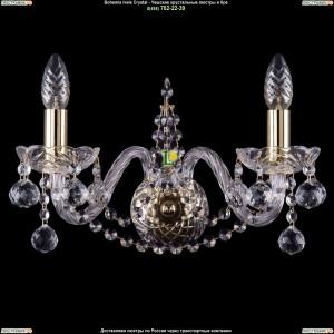 1411/2/160/G/Balls Хрустальное бра Bohemia Ivele Crystal (Богемия)