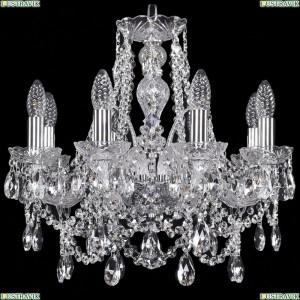 1411/8/160/Ni Хрустальная подвесная люстра Bohemia Ivele Crystal (Богемия)