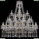 1413/20+10+5/400/3d/G Хрустальная подвесная люстра Bohemia Ivele Crystal (Богемия)