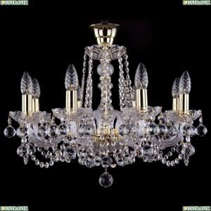 1402/8/195/G/Balls/Tube Хрустальная подвесная люстра Bohemia Ivele Crystal (Богемия)