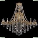 1771/16/490/B/G Хрустальная подвесная люстра Bohemia Ivele Crystal (Богемия)
