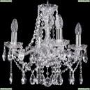 1413/4/141/Ni Хрустальная подвесная люстра Bohemia Ivele Crystal