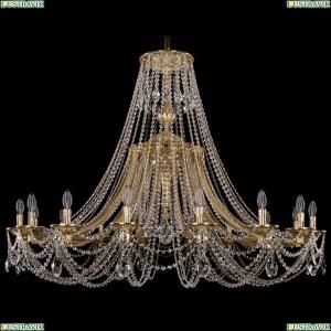 1771/16/490/C/G Хрустальная подвесная люстра Bohemia Ivele Crystal (Богемия)