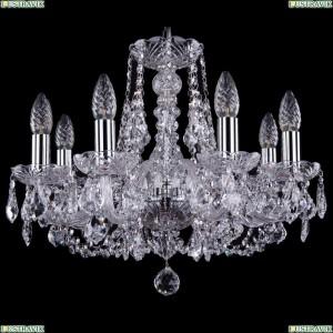 1406/8/160/Ni/Leafs Хрустальная подвесная люстра Bohemia Ivele Crystal (Богемия)