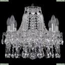 1413/10/141/Ni Хрустальная подвесная люстра Bohemia Ivele Crystal
