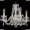 1402/4/160/G Хрустальная подвесная люстра Bohemia Ivele Crystal