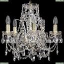 1411/5/141/G Хрустальная подвесная люстра Bohemia Ivele Crystal (Богемия)