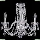 1402/3/160/Ni Хрустальная подвесная люстра Bohemia Ivele Crystal