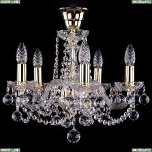 1402/5/141/G/Balls/Tube Хрустальная подвесная люстра Bohemia Ivele Crystal (Богемия)