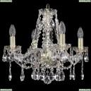 1413/4/165/G Хрустальная подвесная люстра Bohemia Ivele Crystal